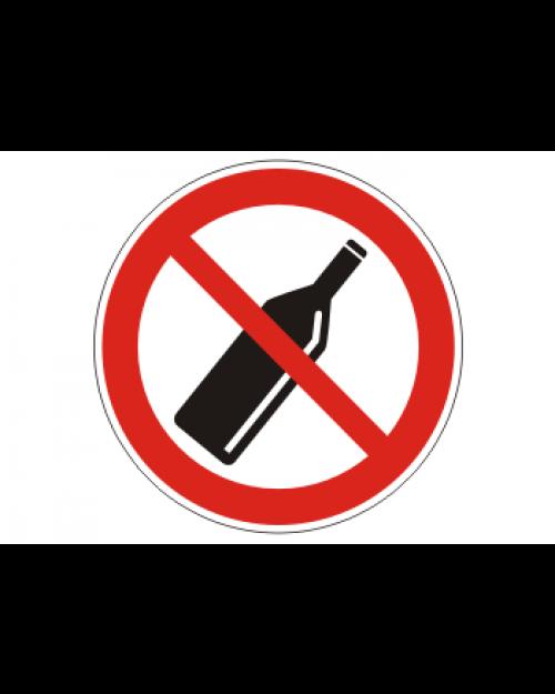 """Verbotsschild """"Keine Flaschen mitführen"""", Best.‑Nr.3446"""