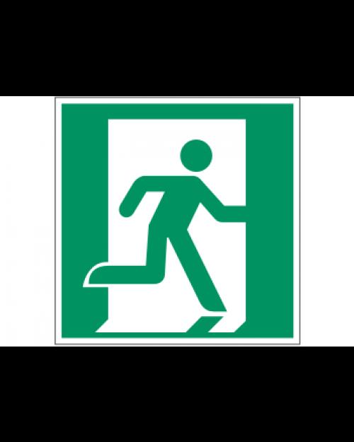 Rettungszeichen: Notausgang rechts, Best. Nr. 3690