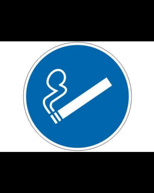 Gebotsschild: Rauchen erlaubt, Best. Nr. 3478
