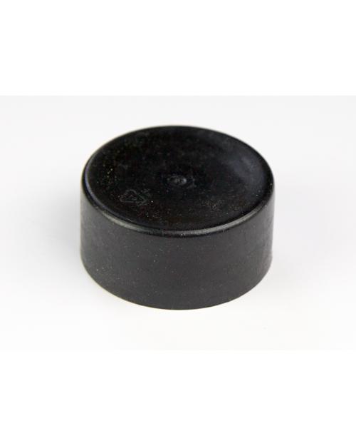 schutzkappe f r rohrpfosten kunststoff 60mm farbe schwarzgrau best. Black Bedroom Furniture Sets. Home Design Ideas