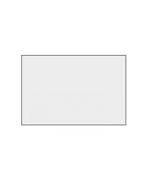 Zuschnitt, Aluminium, lackiert, Vorderseite weiß, 500x333mm, Best.‑Nr.4600