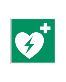 Rettungszeichen: AED, Best.‑Nr.3647
