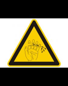 Warnschild: Amputationsgefahr, Best. Nr. 3872