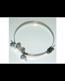 Bandschelle für Rohrdurchmesser 50 - 140 mm, inklusive 2 Schrauben, Best.-Nr.4205