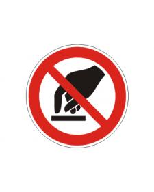 Verbotsschild: Berühren verboten, Best.‑Nr.3416