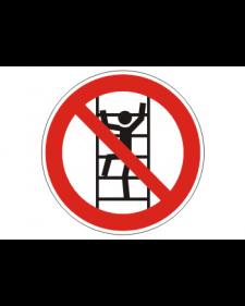 Verbotsschild: Besteigen für Unbefugte verboten, Best.Nr.-3428