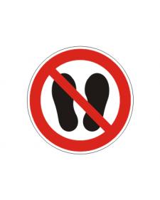 Verbotsschild: Betreten der Fläche verboten, Best. Nr. 3405