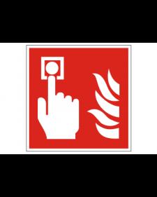 Brandschutzschild: Brandmelder, manuell, Best. Nr. 3707