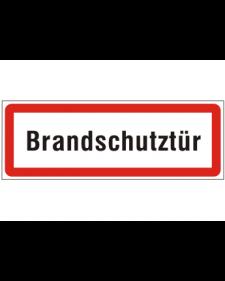 Brandschutzschild: Brandschutztür, Best. Nr. 3753