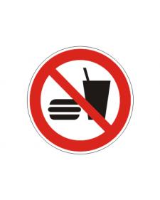 Verbotsschild: Essen und Trinken verboten, Best. Nr. 3409