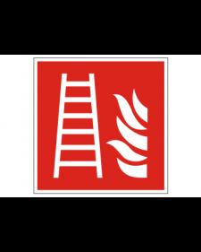 Brandschutzschild: Feuerleiter, Best. Nr. 3702