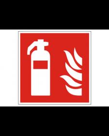 Brandschutzschild: Feuerlöscher, Best.‑Nr.3704
