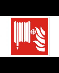 Brandschutzschild: Feuerlöschschlauch, Best. Nr. 3703
