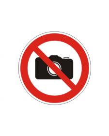 Verbotsschild: Fotografieren verboten, Best. Nr. 3410