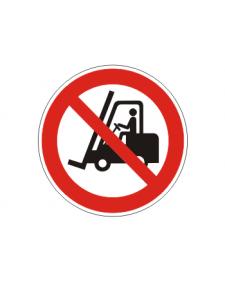 Verbotsschild: Für Flurförderzeuge verboten, Best.Nr.-3415