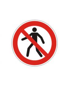Verbotsschild: Fußgänger verboten, Best. Nr. 3406
