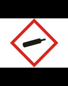 Schild: Gase unter Druck, Best. Nr. 3988