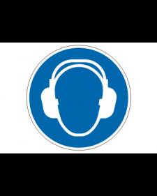 Gebotsschild: Gehörschutz benutzen, Best. Nr. 3900