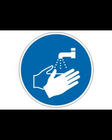 Gebotsschild: Hände waschen, Best. Nr. 3904