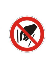 Verbotsschild: Hineinfassen verboten, Best.Nr.-3421