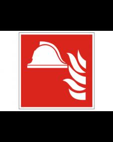 Brandschutzschild: Material zur Brandbekämpfung, Best. Nr. 3706