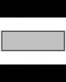 Innenschild: neutral, silber/ schwarz, Aluminium, Best.‑Nr.3018