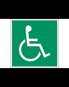 Rettungszeichen: Notausgang für Behinderte, Best.-Nr. 3646