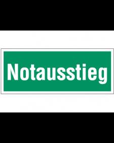 Fluchtwegzeichen: Notausstieg, Best. Nr. 3682