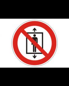Verbotsschild: Personenbeförderung verboten, Best.Nr.-3424