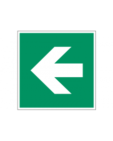 Rettungszeichen: Richtungspfeil links, Best. Nr. 3693