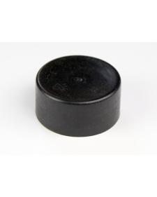 Schutzkappe für Rohrpfosten, Kunststoff, 60mm ø, Farbe schwarzgrau, Best.-Nr.4203