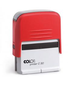 Stempel COLOP PR C30, selbstfärbend, 5 Zeilen, frei beschriftbar, 18x47mm, Best.‑Nr.4430