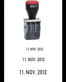 Stempel: COLOP-Bänderstempel, Datum, 3‑5 mm Schrifthöhe, Best.‑Nr.4453-55