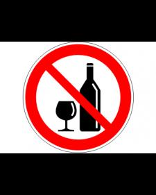 """Verbotsschild """"Alkoholverbot"""", Best.‑Nr.3451"""