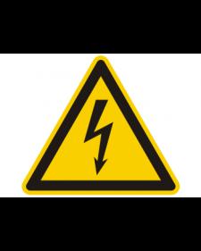 Warnschild: Warnung vor gefährlicher elektrischer Spannung, Best. Nr. 3800