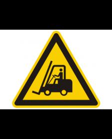 Warnschild: Warnung vor Flurförderzeugen, Best. Nr. 3827