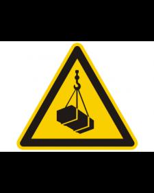 Warnschild: Warnung vor Schwebender Last, Best.‑Nr.3830
