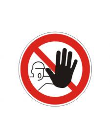 Verbotsschild: Zutritt für Unbefugte verboten, Best. Nr. 3407