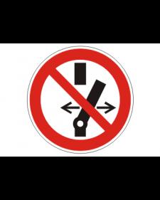Verbotsschild: Schalten verboten, Best.Nr.-3426