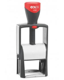 Stempel: Classic 2100 COLOP, selbstfärbender Metallstempel, inkl. schwarzem Stempelkissen, 41 x 24 mm, Best.-Nr. 4421