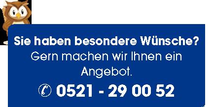 Hinweis zur Schilder-Warweg-Inventaretiketten-Beratung
